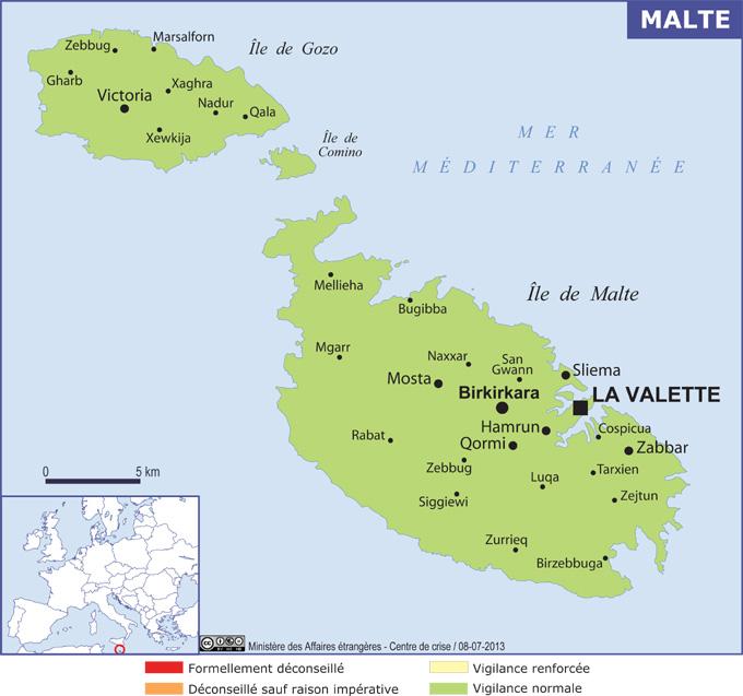 Malte for Plan de malte