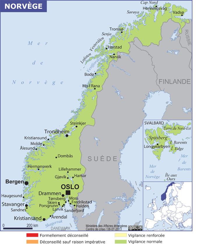office de tourisme norvege