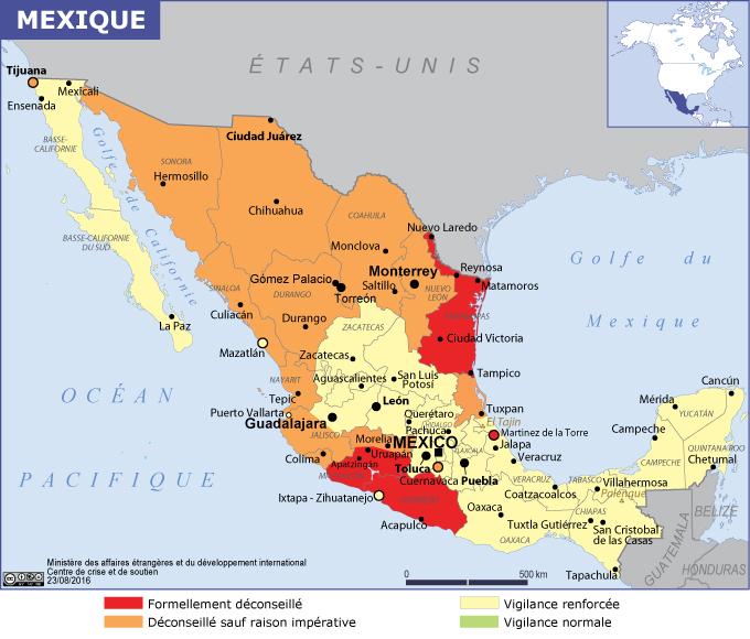 mexique vaccins et formalites