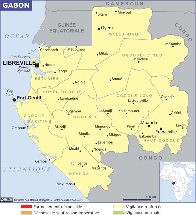 Gabon - Consulat de france port gentil ...