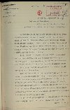 Lettre du général Joffre à Aristide Briand