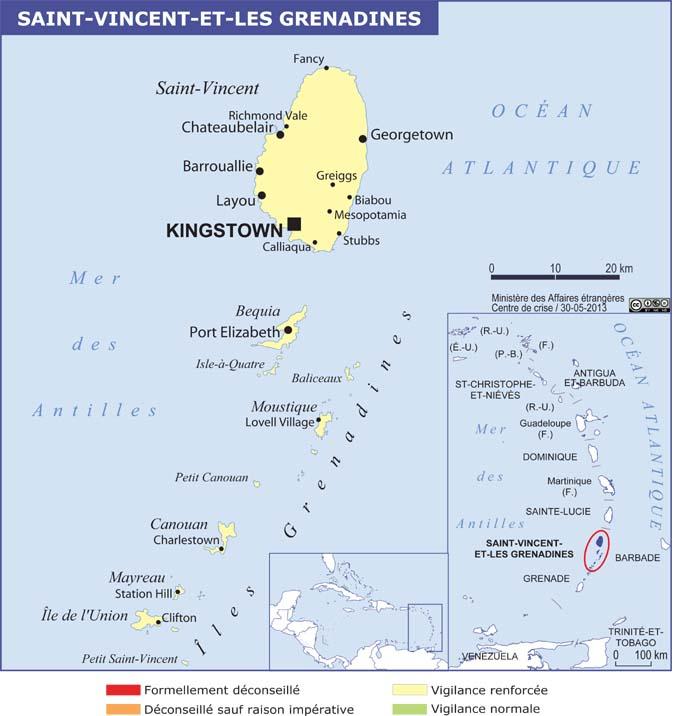 Saint Vincent Et Les Grenadines Hotel