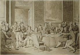 Le congrès de Vienne par J.B.Isabay