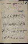 Télégramme de Damien de Martel, chargé de mission en Sibérie