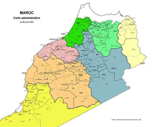 Maroc 1941 couleur