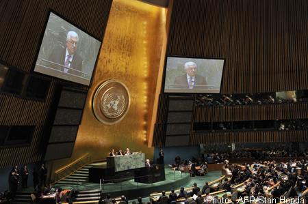 Illust: Mahmoud Abbas lors, 168.5ko, 450x299