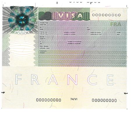 Vignette Schengen