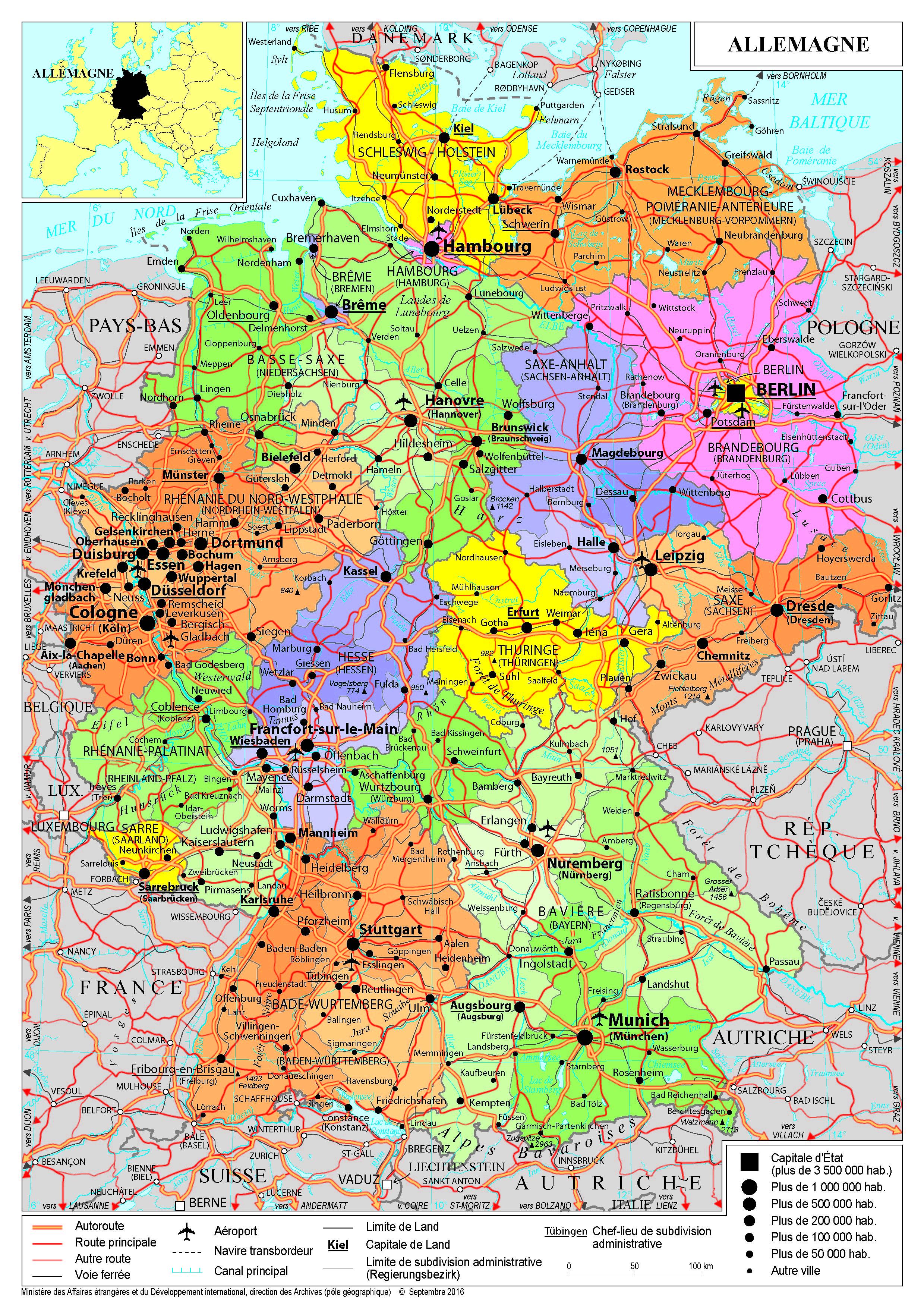 Image D Allemagne présentation de l'allemagne