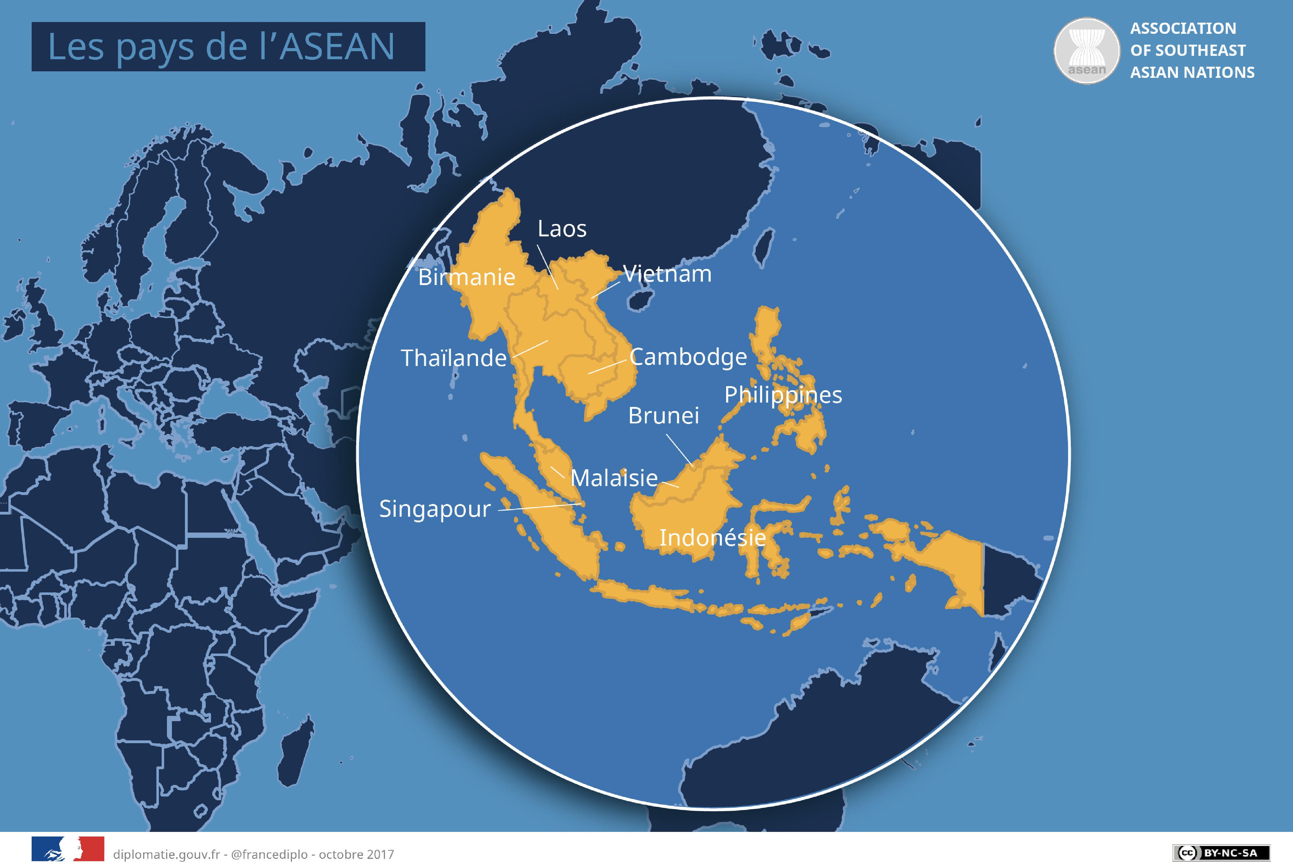 Carte Europe Du Sud Est.Asean