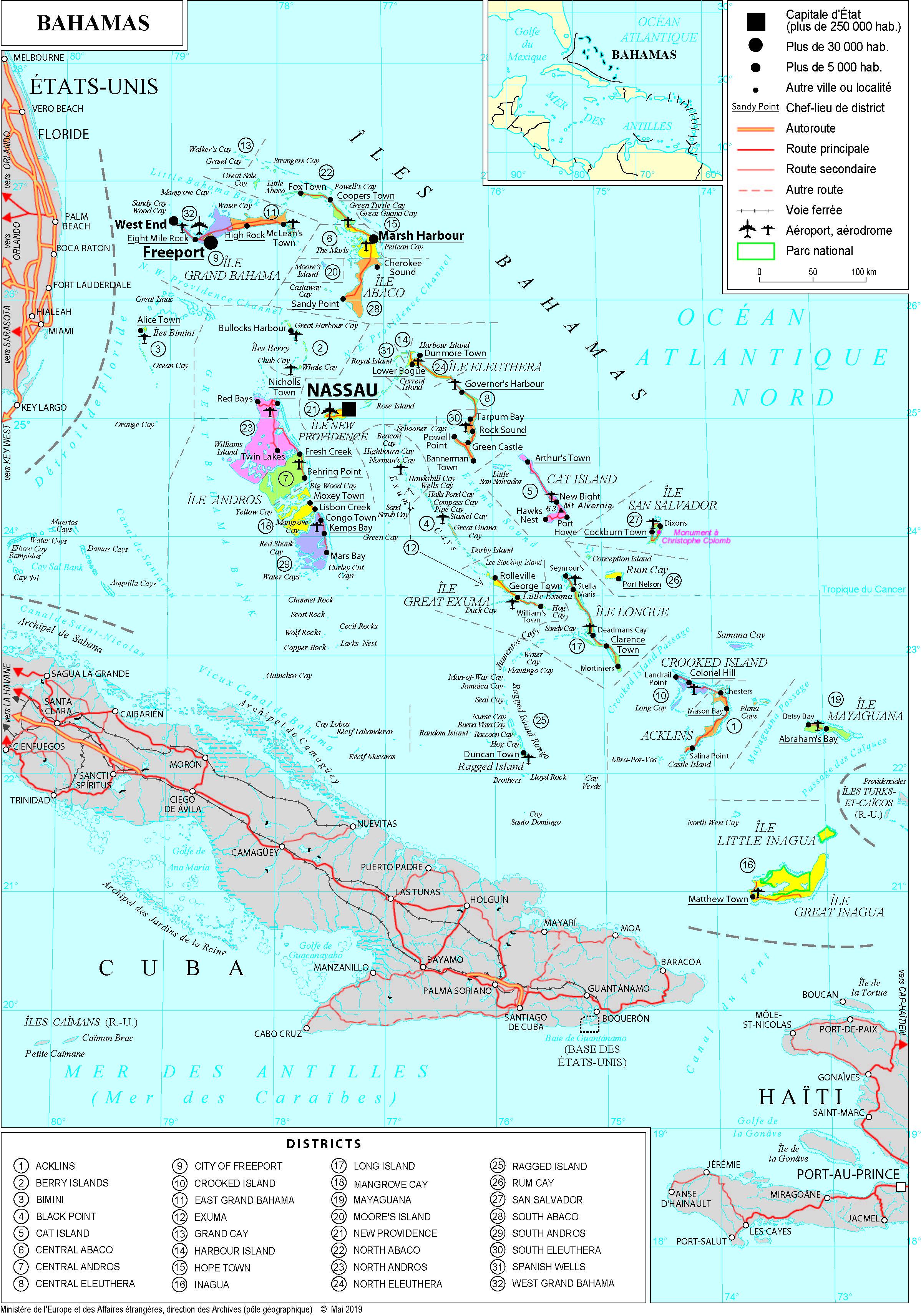 Carte Amerique Du Sud Pays Et Capitales Pdf.Amerique Cartes De A A H France Diplomatie Ministere De L