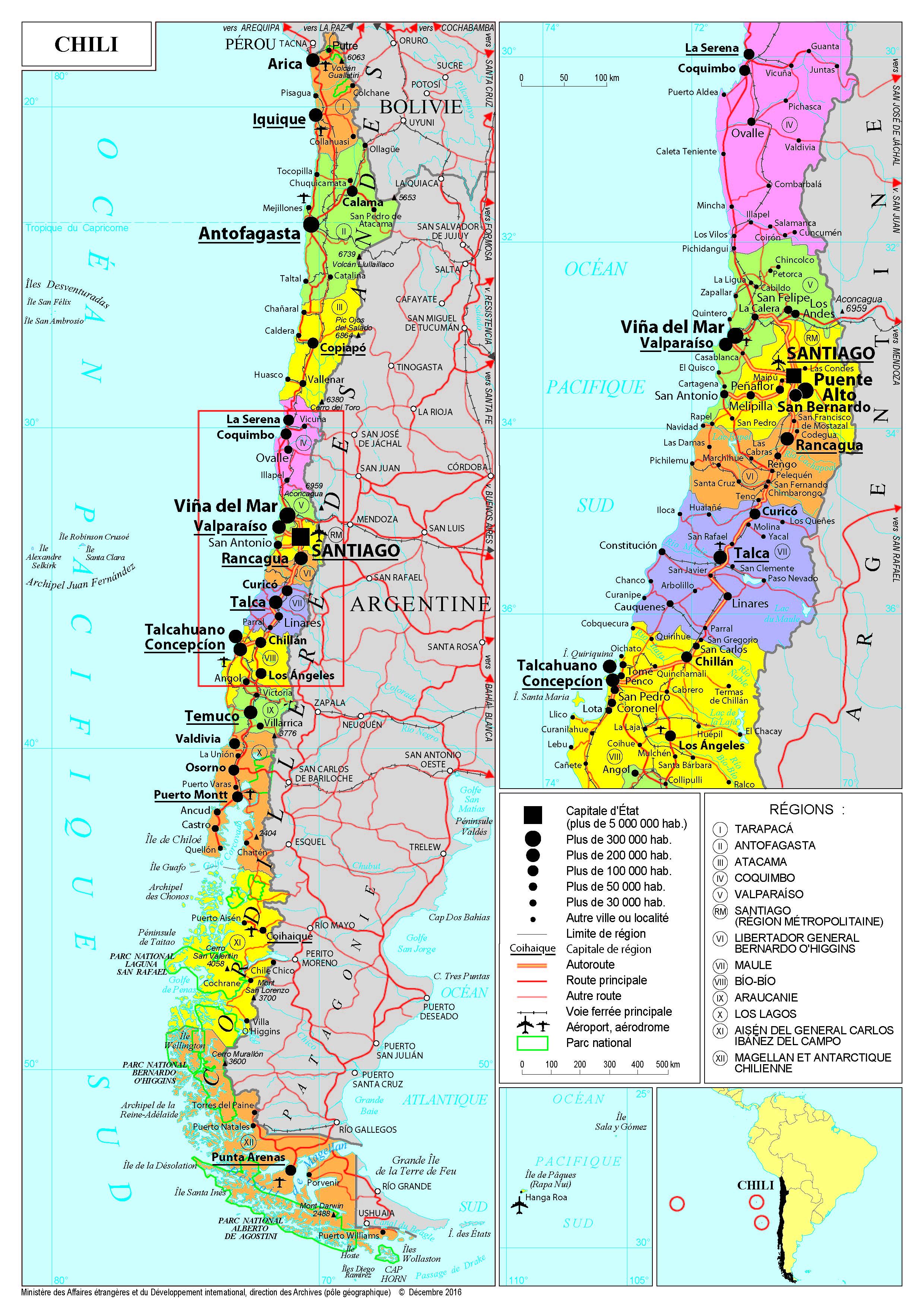 Carte Amerique Du Sud Pays Et Capitales Pdf.Presentation Du Chili