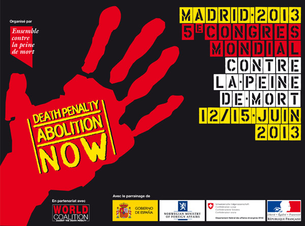 5e Congrès mondial contre la peine de mort