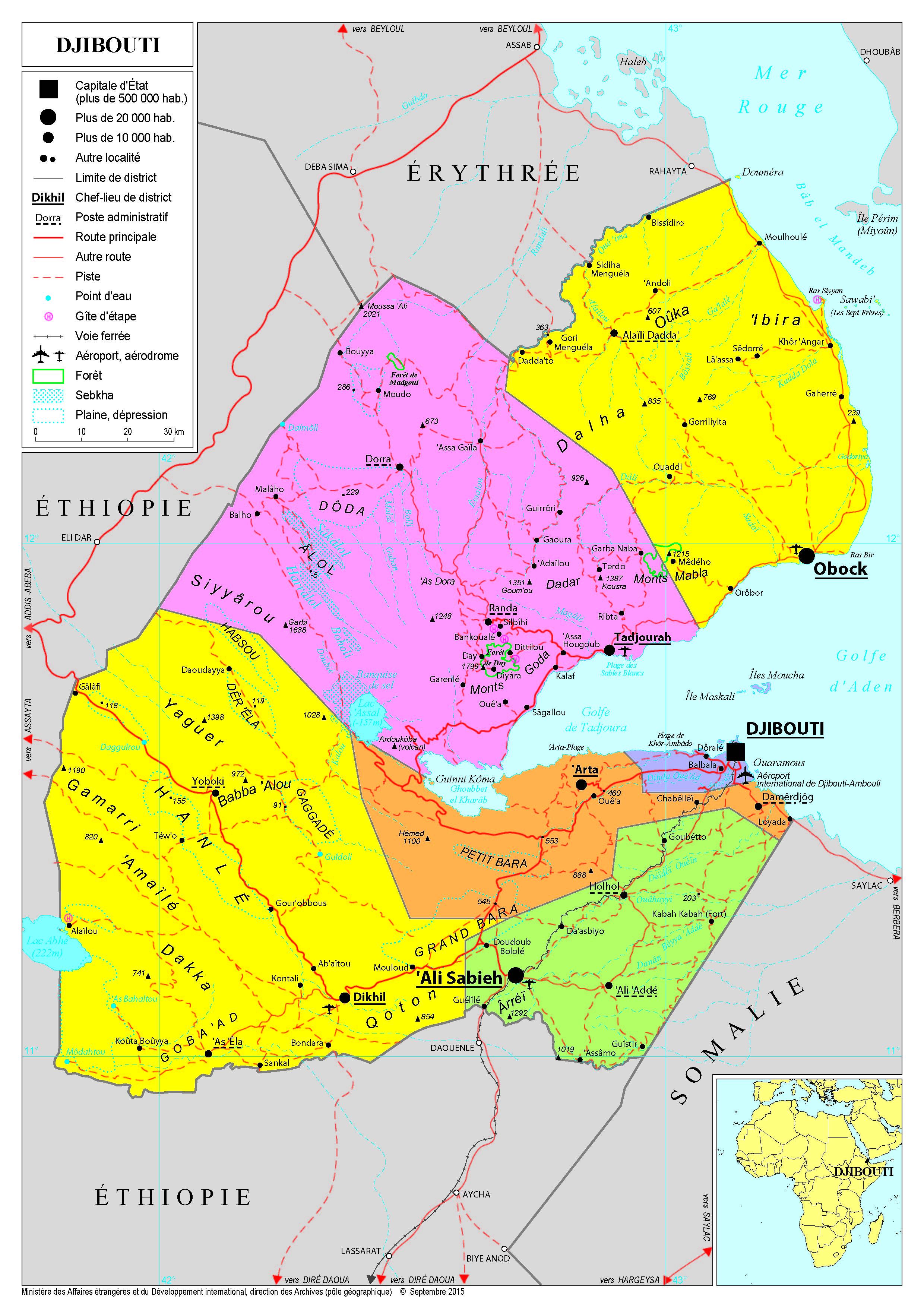 Présentation de Djibouti