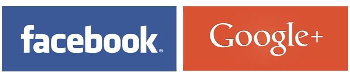 Facebook & Google - Logo