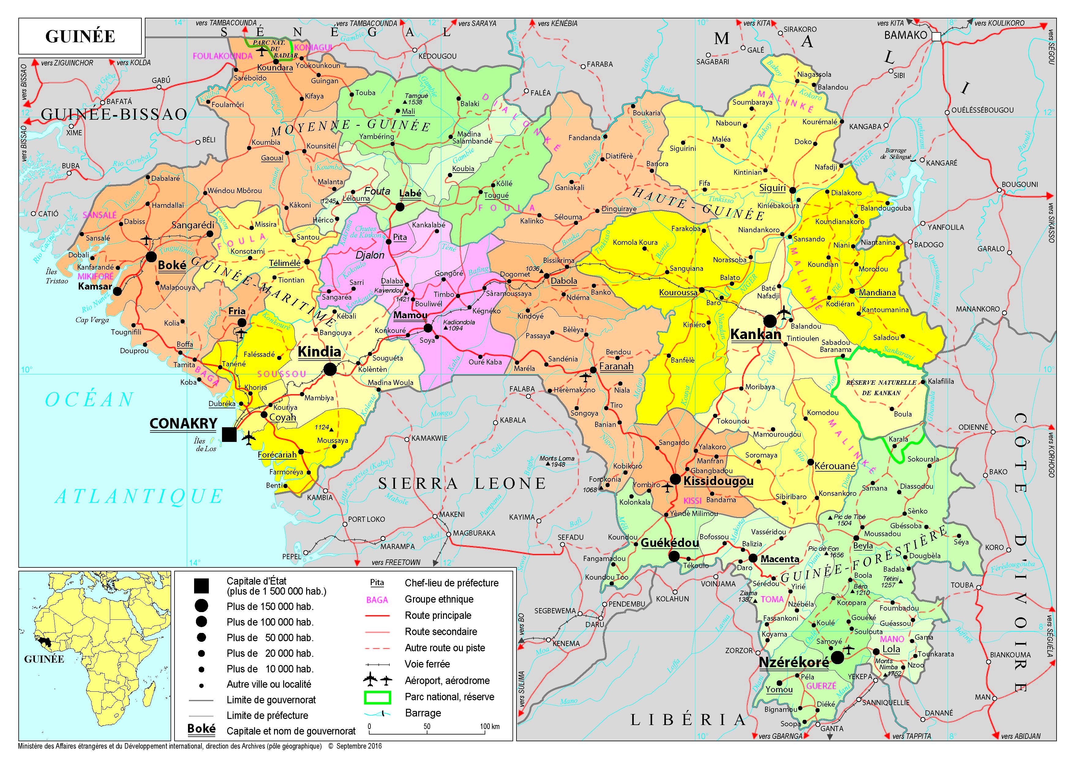 Afrique - cartes de A à L - France-Diplomatie - Ministère ...Les Ondes De Guinee