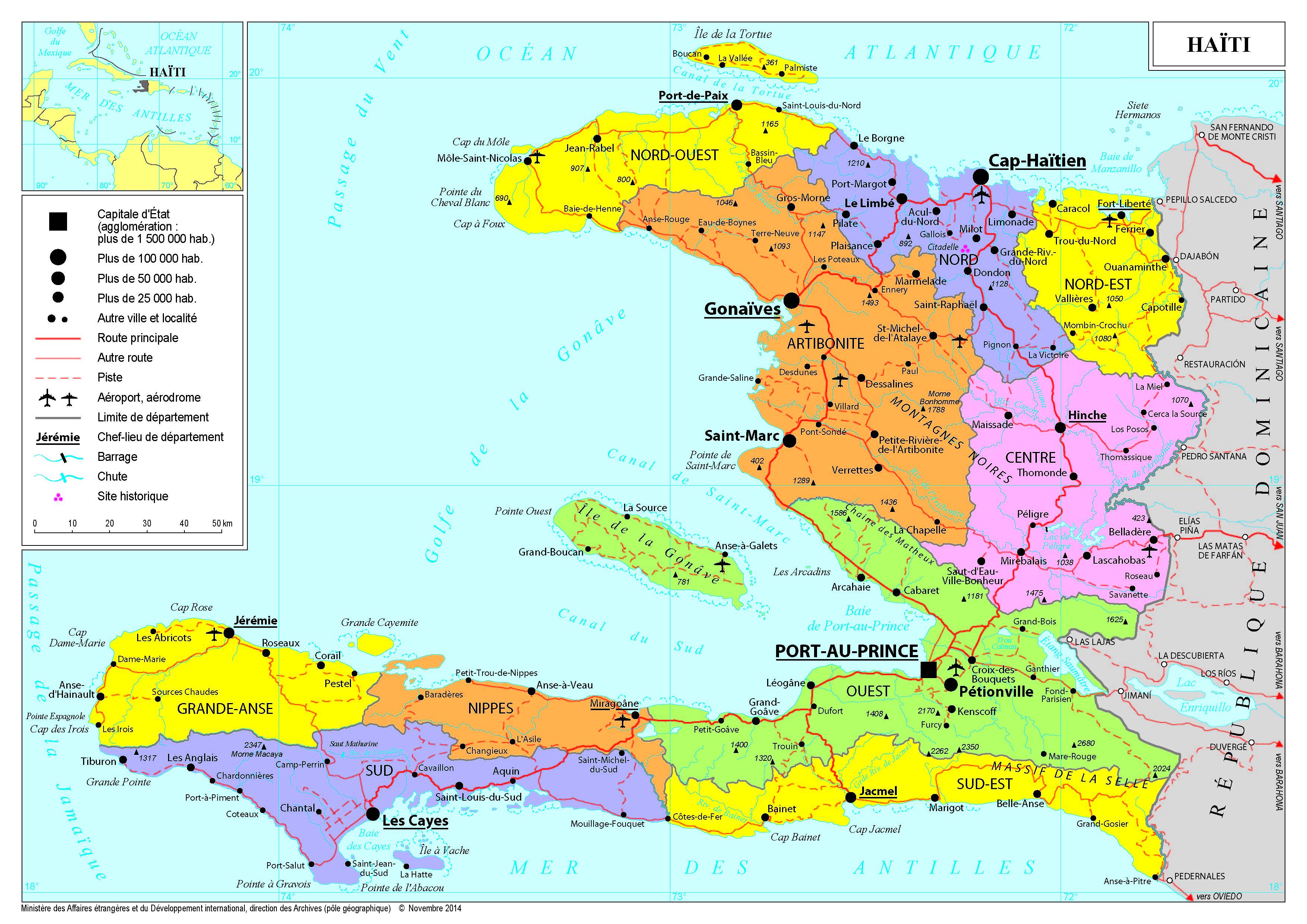 Presentation De Haiti Ministere De L Europe Et Des Affaires Etrangeres