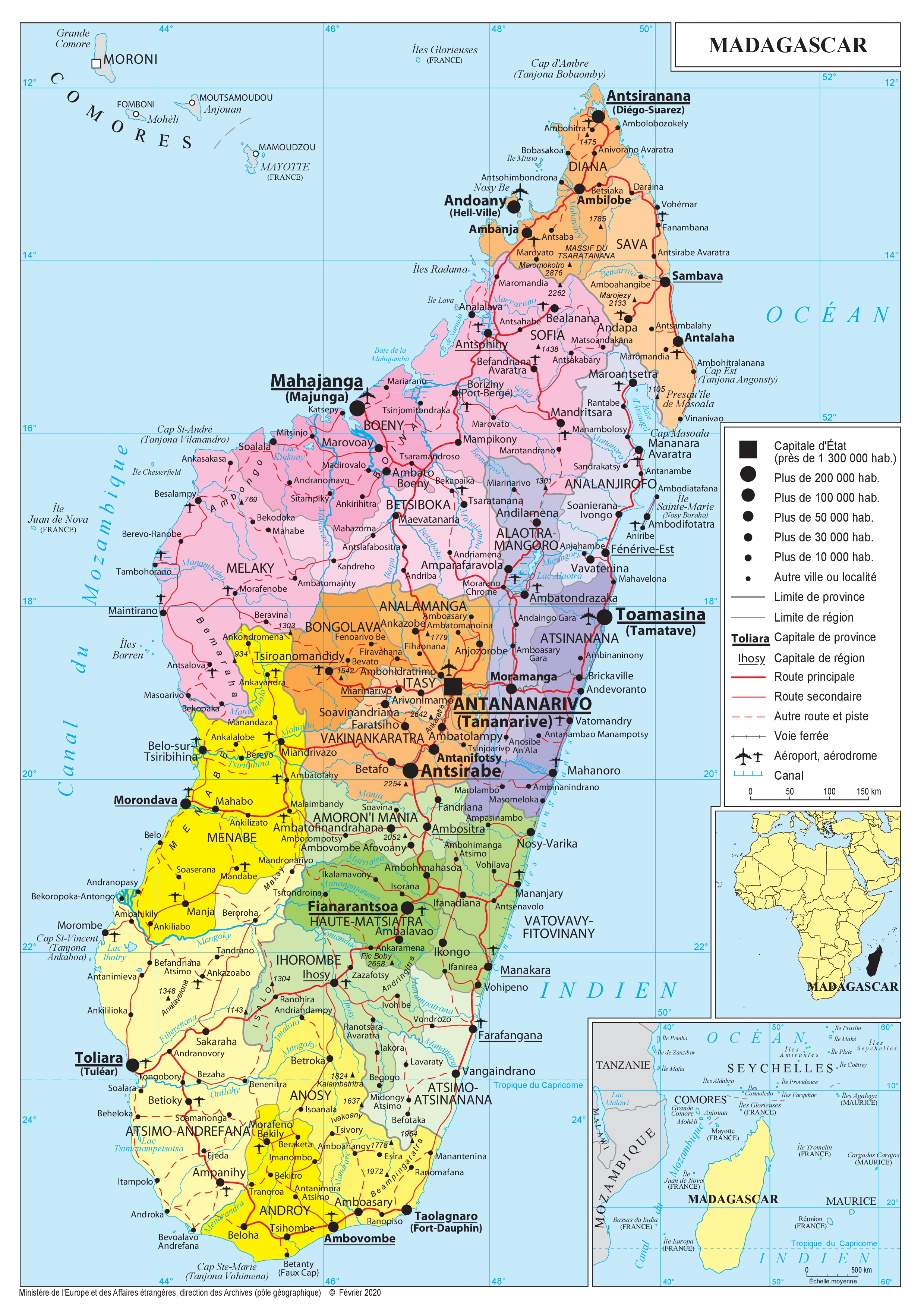 Carte De Madagascar A Imprimer.Presentation De Madagascar