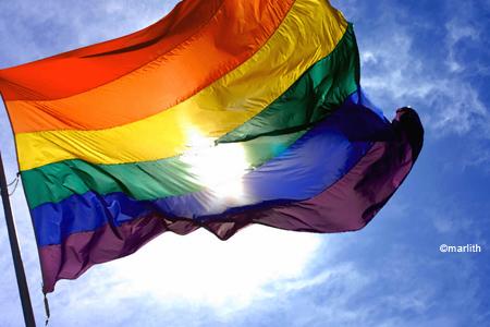 Illust: rainbow flag2, 79.9ko, 450x300