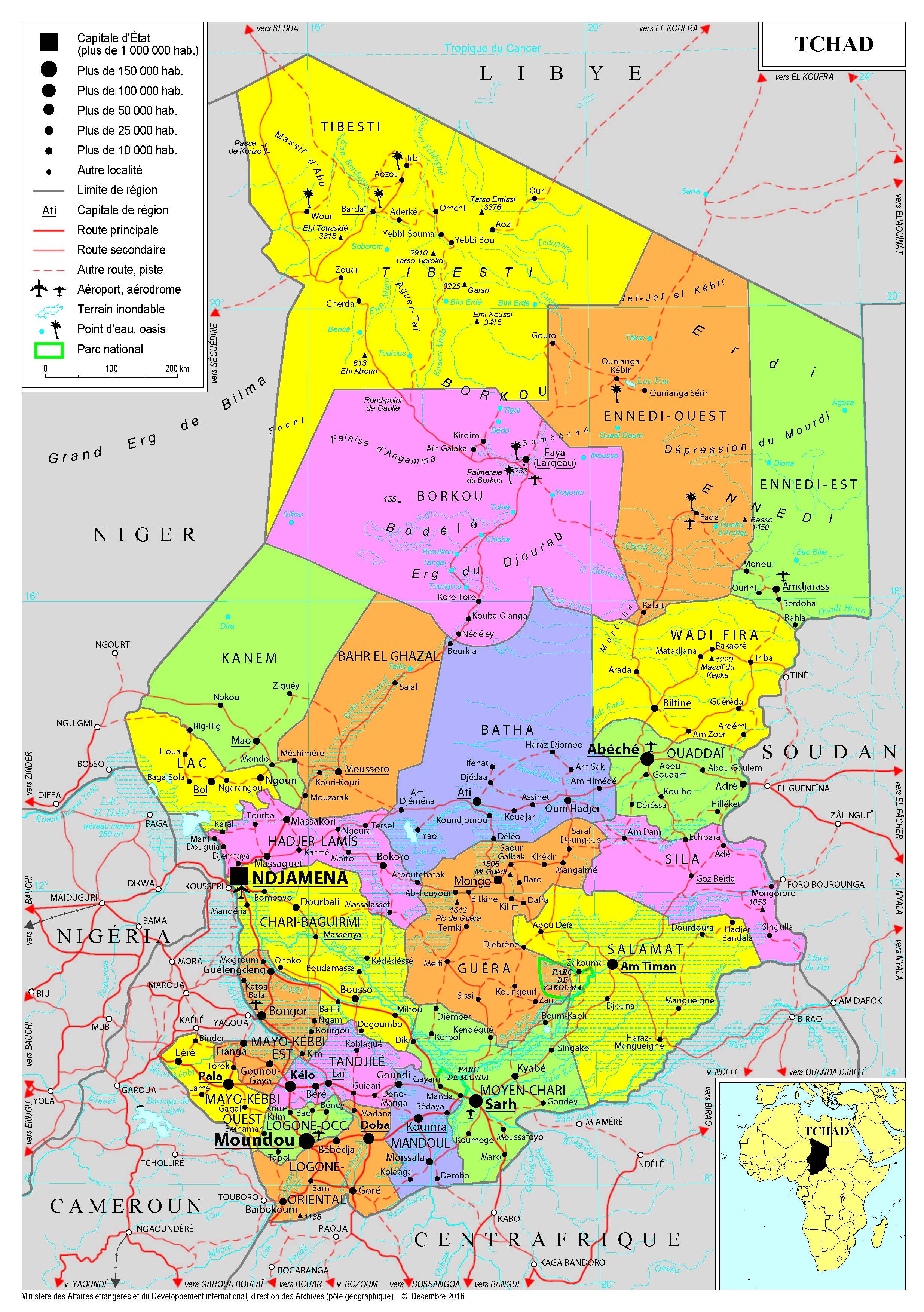 Afrique - cartes de M à Z - Ministère de l'Europe et des Affaires étrangères