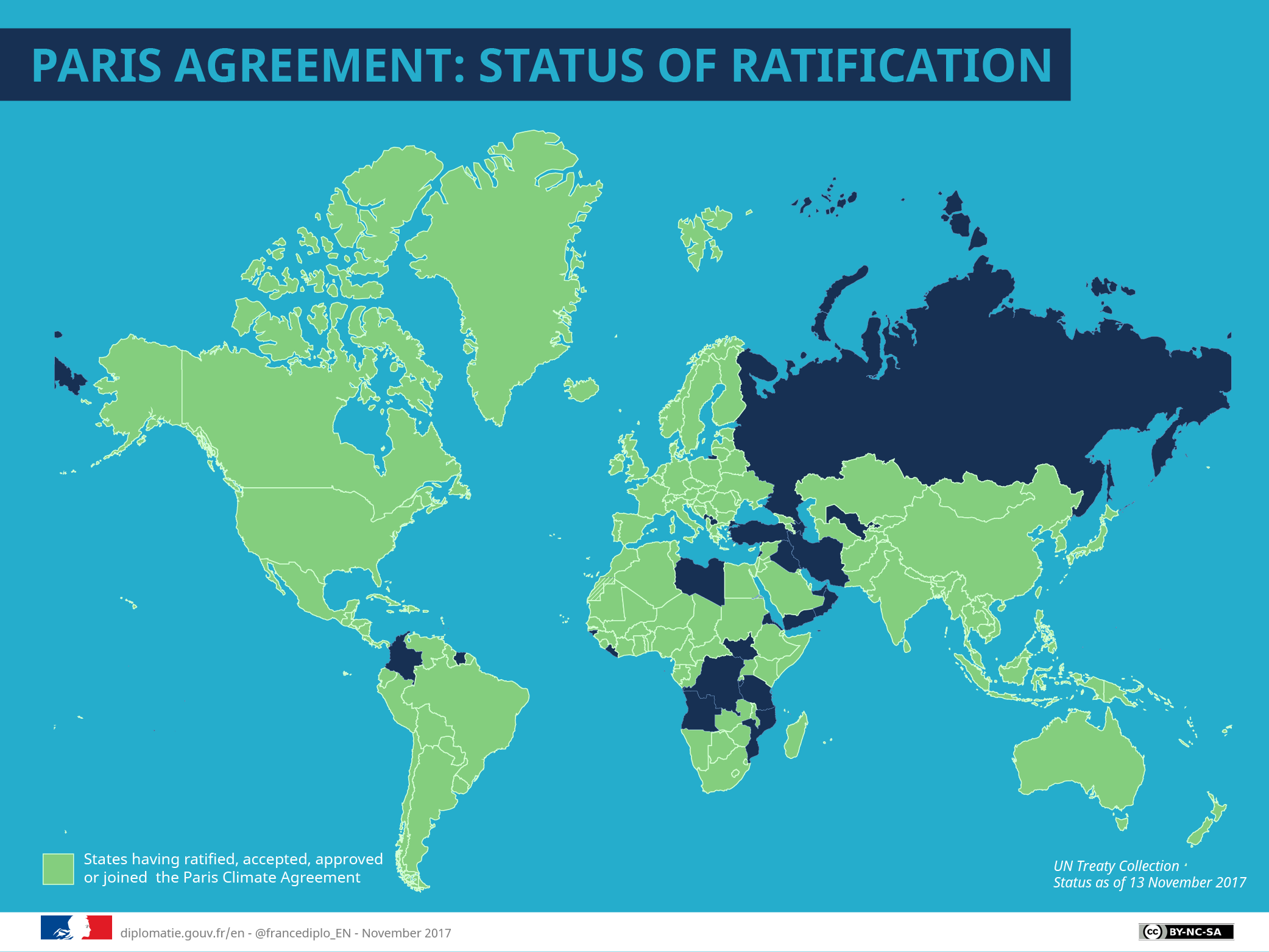 Map Of France With Key.Cop21 The Key Points Of The Paris Agreement