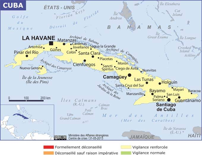 Carte Touristique Cuba Forum.Cuba