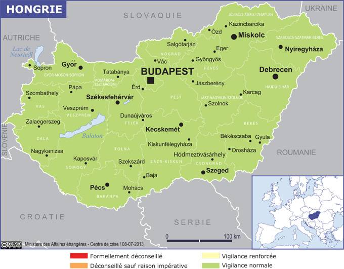 Carte Didentite Hongrie.Hongrie