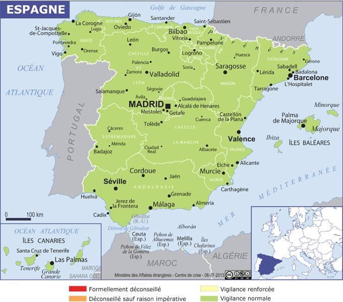 Espagne Ministere De L Europe Et Des Affaires Etrangeres