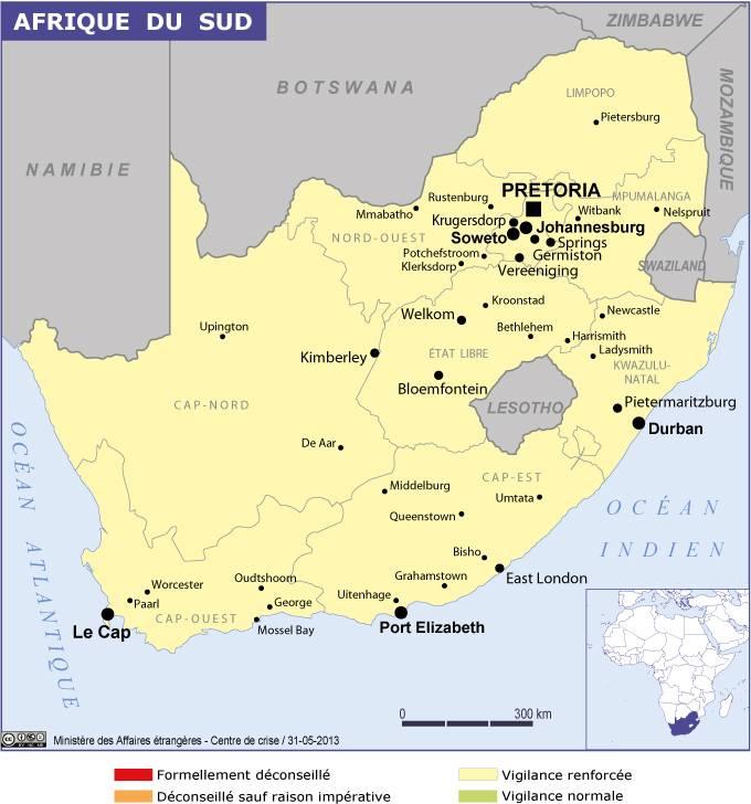 Carte Visa En Afrique Du Sud.Afrique Du Sud