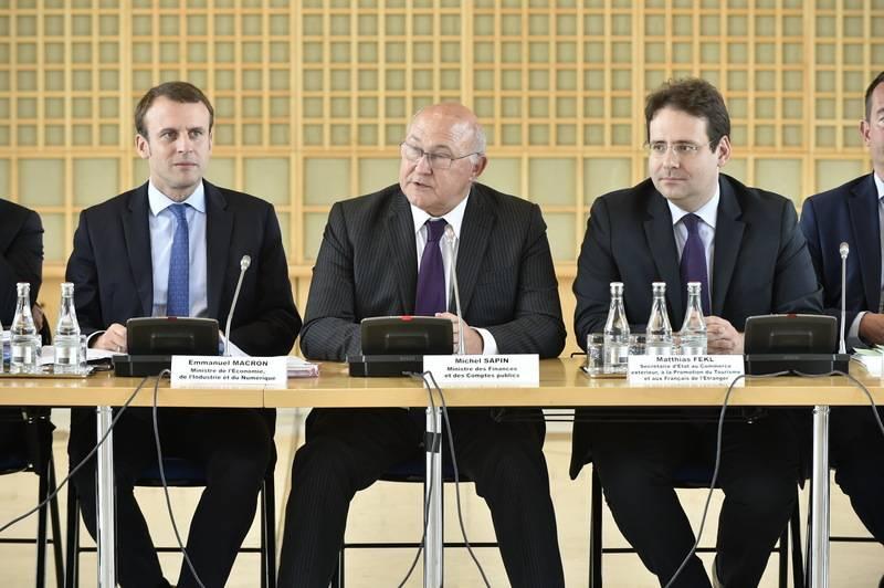 Diplomatie conomique participation de matthias fekl for Ministere commerce exterieur
