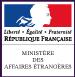 Le site officiel du ministère des Affaires étrangères